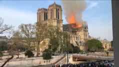 El incendio de la Catedral de Notre Dame desde todos los ángulos