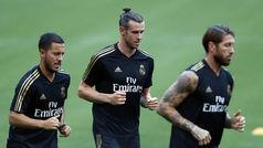 El Real Madrid se ejercita en Washington
