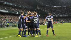 LaLiga (J9): Resumen y goles del Betis 0-1 Valladolid