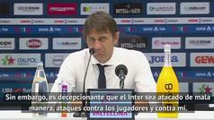 """Conte carga duramente contra la cúpula del Inter: """"Vi poca protección del club"""""""