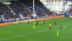 Gol de Mayoral (4-4) en el Eibar 4-4 Levante
