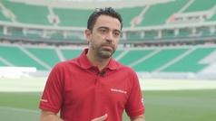 """Xavi, sobre la inauguración de la sexta sede del Mundial: """"Este estadio es una maravilla"""""""