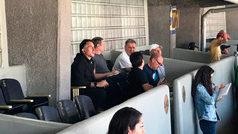 Gerardo Martino, presente en Ciudad Universitaria para ver el Clásico Capitalino