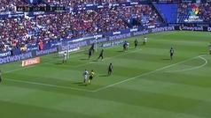Gol de Ben Yedder (1-4) en el Levante 2-6 Sevilla