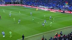 Gol de Lo Celso (1-1) en el Espanyol 1-3 Betis