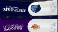Los Lakers se estrenan a la tercera con su 'Big Four' a buen rendimiento: 82+24+22