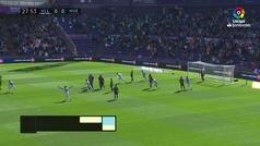 Gol de Alcaraz (1-0) en el Valladolid 1-0 Huesca
