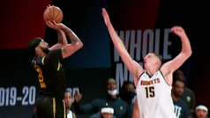 El vídeo que emociona a los Lakers: Davis grita Kobe tras anotar sobre la bocina