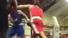 Conor McGregor juega sucio en un combate contra un electricista: ¡Puñetazo a traición!