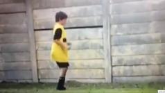Así se entrenaba en solitario Fede Valverde con 9 años