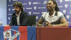 El Huesca presenta a Semedo