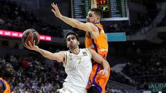 Euroliga. Resumen: Real Madrid 111-99 Valencia