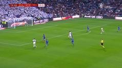 MX: Gol de Vinícius Junior (5-0) en el Real Madrid 6-1 Melilla
