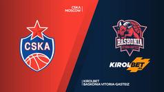 Euroliga (cuartos de final): Resumen del CSKA Moscú 94-68 Kirolbet Baskonia