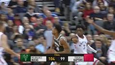 Raptors 99-104 Bucks