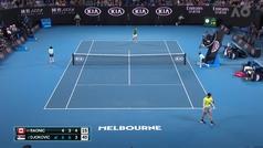 Djokovic perdió la lentilla en medio de su partido ante Raonic
