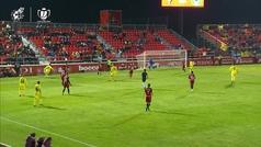 Gol de Cazorla (p.) (2-2) en el Mirandés 4-2 Villarreal