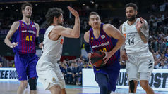 Liga ACB. Resumen: Real Madrid 76-82 Barcelona