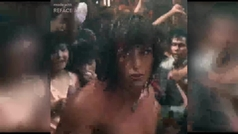 Eva González se convierte en Rambo