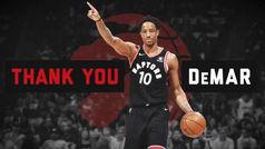 El emotivo homenaje a DeRozan en su regreso a Toronto