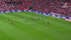 Gol de Amat (P.P.) (1-0) en el Athletic 3-2 Rayo