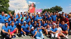 El torneo benéfico de golf organizado por la Clínica Menorca es un éxito de participación