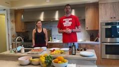 Pau Gasol también da ejemplo de nutrición saludable