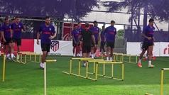 El Atlético apunta a Lisboa