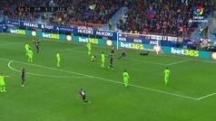Gol de Escalante (2-2) en el Eibar 4-4 Levante