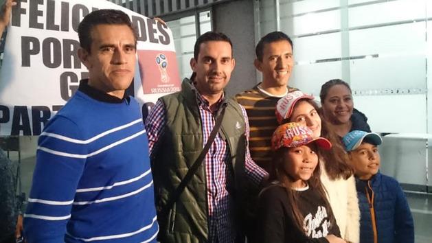 César Arturo Ramos ya está en México tras pitar en Rusia 2018