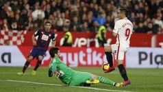 LaLiga (J23): Resumen y goles del Sevilla 2-2 Eibar