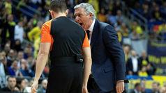 Increíble: Svetislav Pesic, expulsado... ¡en apenas un minuto de partido!