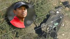 Tiger Woods, herido en un accidente de coche