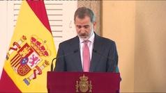 """Felipe VI pide """"preparar la industria turística ante los eventuales retos del futuro"""""""