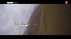 Los increíbles gritos de Sara García para levantar su Yamaha