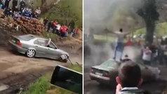 Imputado un avilesino por conducir de forma temeraria en un rally en marzo