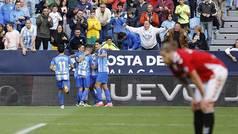 LaLiga 123 (J14): Resumen y goles del Málaga 2-0 Nástic