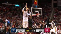 La exhibición de los Pelicans para tumbar a los 'poderosos' Rockets