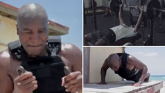 Holyfield sigue metiendo miedo a Tyson: ¡así se machaca con 57 años!