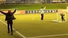 El festejo exaltado de Shakira por un gol de su hijo