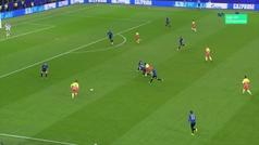 Gol de Sterling (0-1) en el Atalanta 1-1 Manchester City