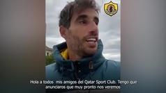 Así anuncia Javi Martínez su llegada al Qatar SC