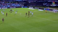 Gol de Medrán (0-2) en el Celta 2-2 Rayo