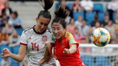 Mundial femenino: Resumen del China 0-0 España