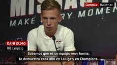 """Así ve Dani Olmo, jugador español del Leipzig, al Atlético de Madrid, """"es un rival muy duro"""""""