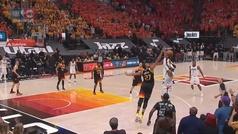 La sublime jugada defensiva de los Jazz para llevarse el partido