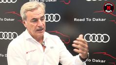 Carlos Sainz analiza en MARCA su próximo reto: ganar el Dakar con un coche eléctrico