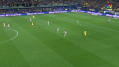 Gol de Gerard Moreno (3-1) en el Villarreal 2-1 Rayo Vallecano