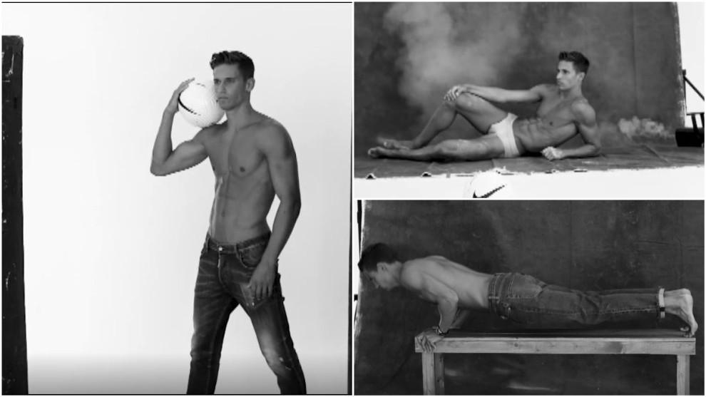 La perfección física hecha futbolista: así luce su cuerpo Marcos Llorente