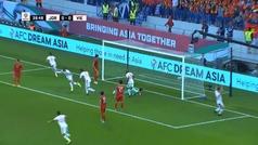 Si Ramos alucinó con el 'testarazo' de Casemiro... ¡se quedará sin palabras con este gol de Jordania!